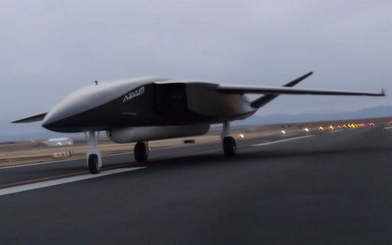 In the United States showed a drone for space launches