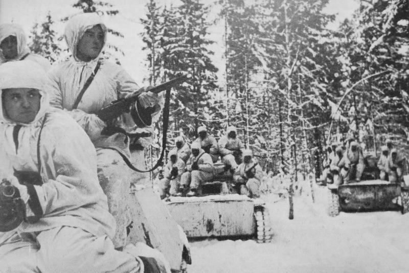 December 5 - Day of the beginning of the counteroffensive of Soviet troops near Moscow