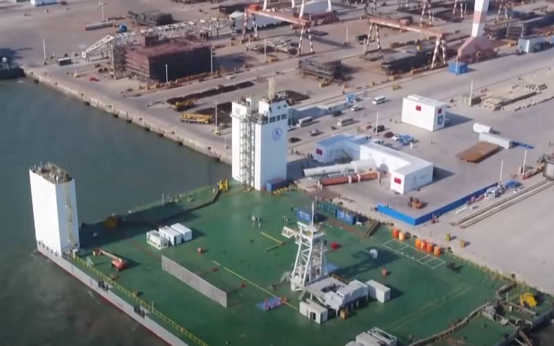 Китай начал строительство новой базы для обеспечения космических пусков с морской платформы