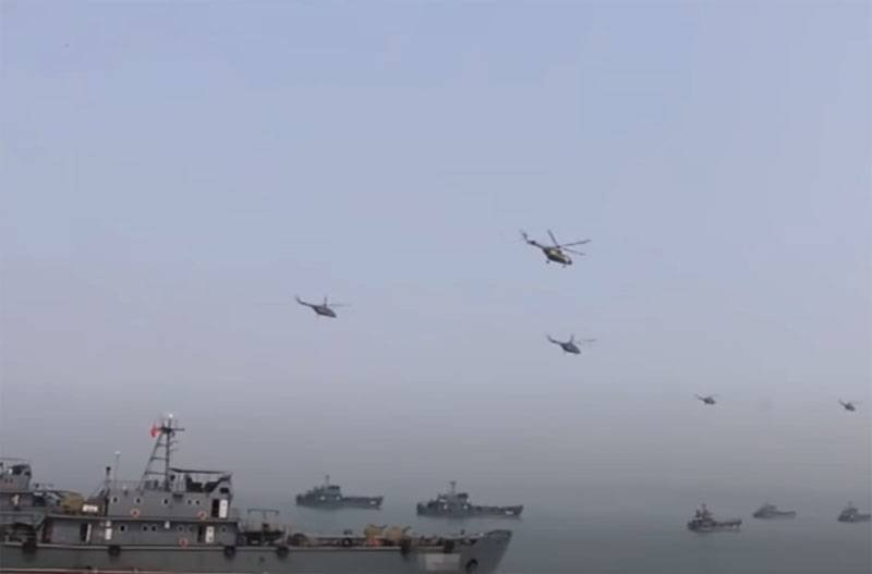 """In China, told about exercises with """"three-dimensional assault"""" with the participation of the PLA marines"""