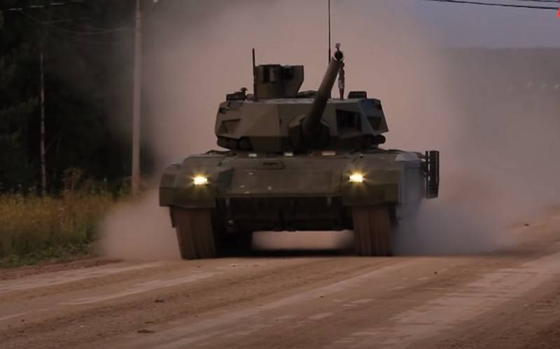 """Rostec told about the timing of serial deliveries to the troops of the T-14 """"Armata"""""""