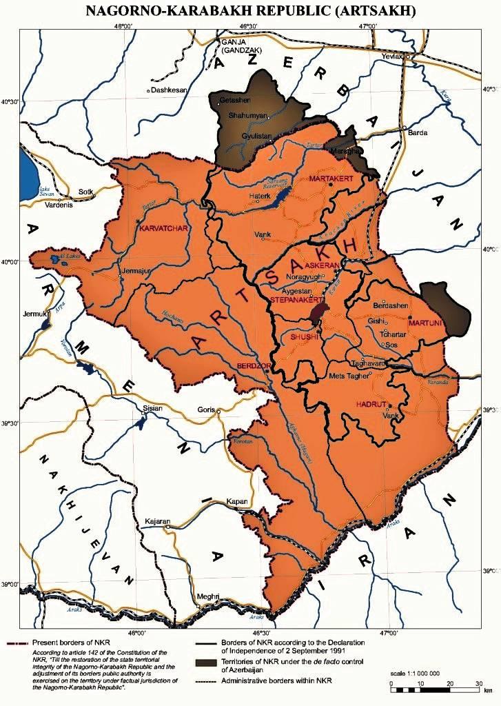 Нагорный Карабах: реки крови и пятна нефти
