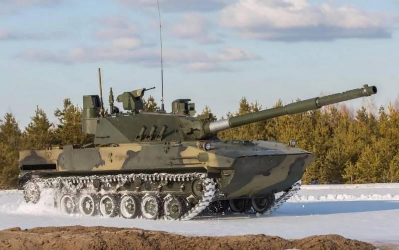국방부는 Sprut-SDM1 자주포를 구매하기로 결정했습니다.