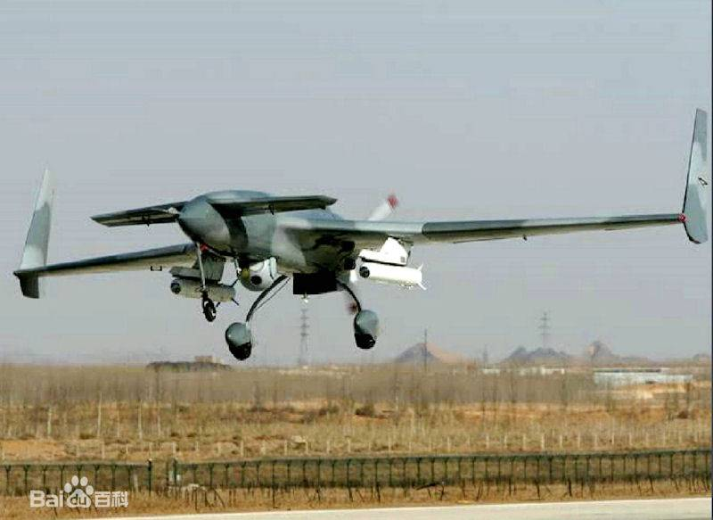 Heavy drones of China. Development and prospects