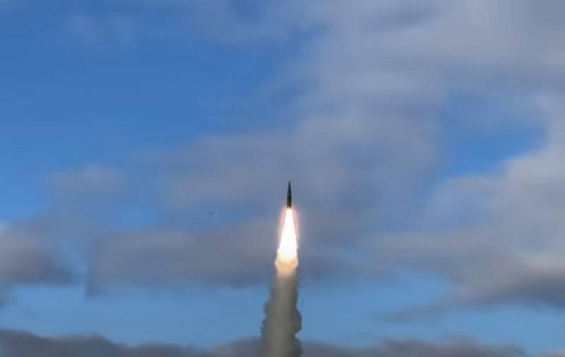 "OTRK ""Iskander-M"" tested at the sea test site near Arkhangelsk"