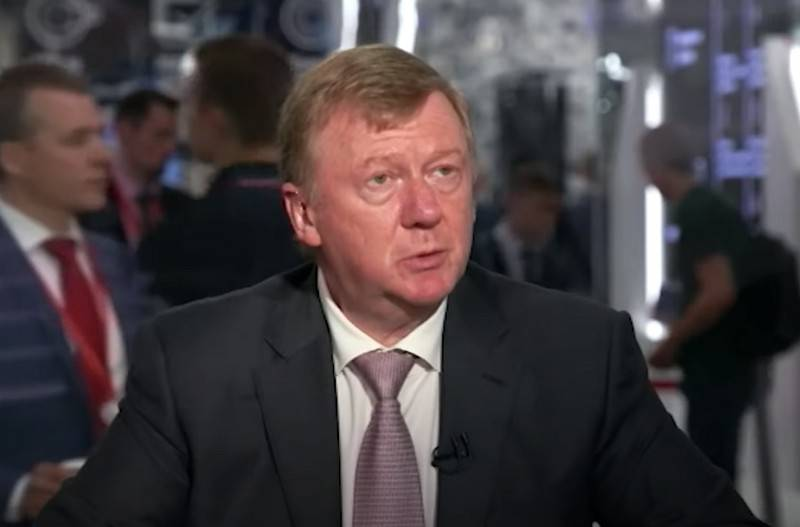 The State Duma proposed to study and assess the activities of Chubais in RUSNANO