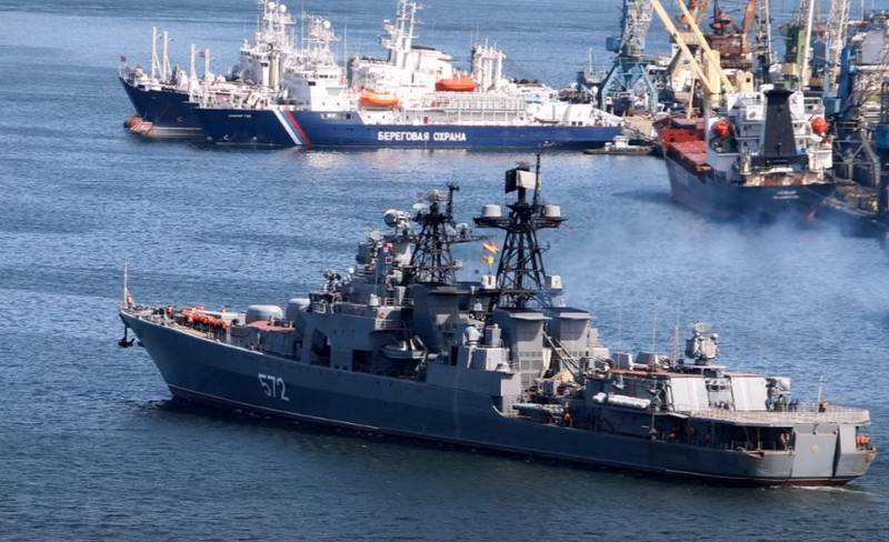 "The Ministry of Defense has made a fundamental decision on the modernization of the BOD ""Admiral Vinogradov"""