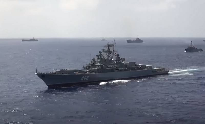 Russian Navy ships to conduct joint naval exercises with NATO