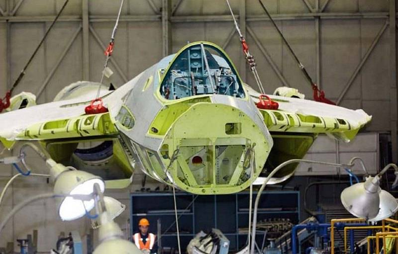 A video of the use of augmented reality in the assembly of Su-57 fighters appeared on the web