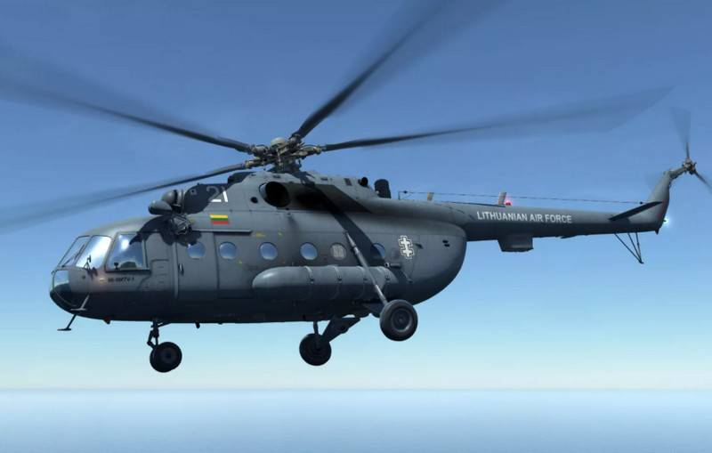 Lithuania found a way out of the situation with the repair of the Soviet Mi-8 in service with the Air Force
