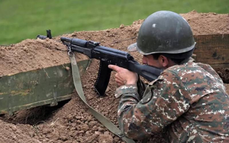 Three NKR servicemen wounded in a shootout with the Azerbaijani military
