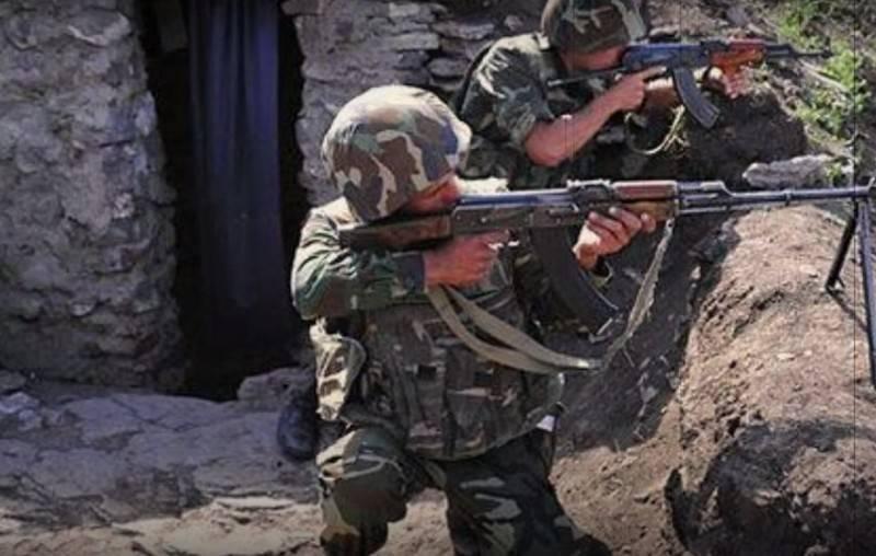 Армения заявила о новом наступлении азербайджанской армии в Карабахе