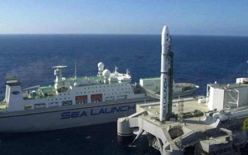 Rosatom plans to modernize the Sea Launch floating cosmodrome