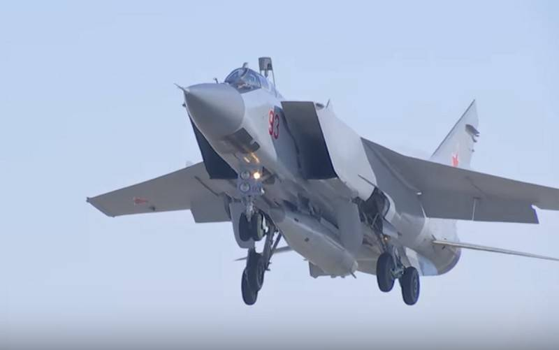 "Russian Arctic will be covered by MiG-31 with hypersonic ""Daggers"""