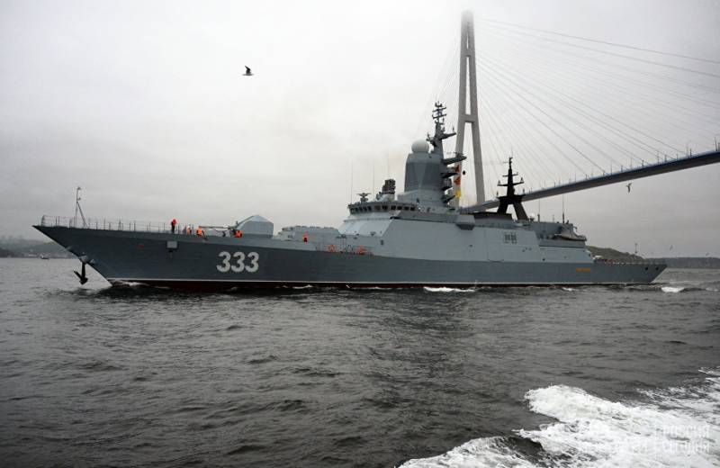 The Ministry of Defense signed a contract for the construction of six corvettes for the Pacific Fleet