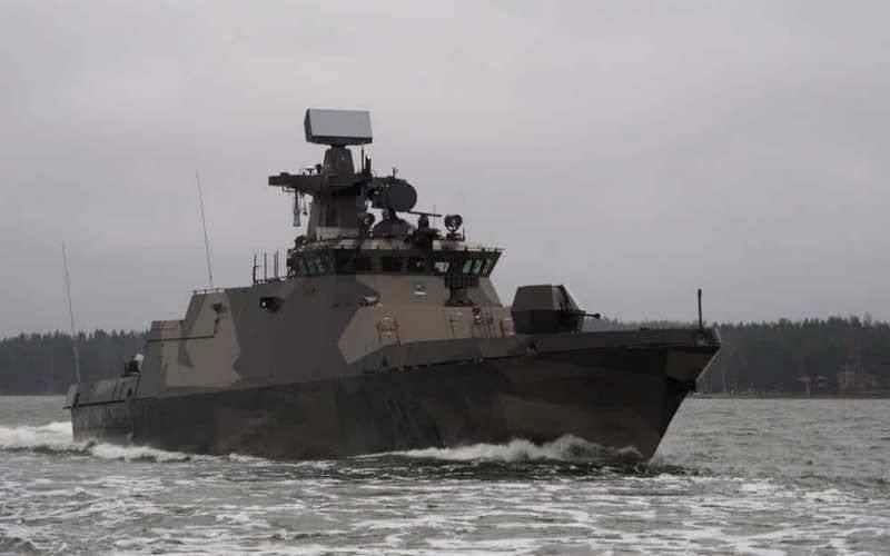 La marine finlandaise a reçu un deuxième bateau lance-missiles modernisé de classe Hamina