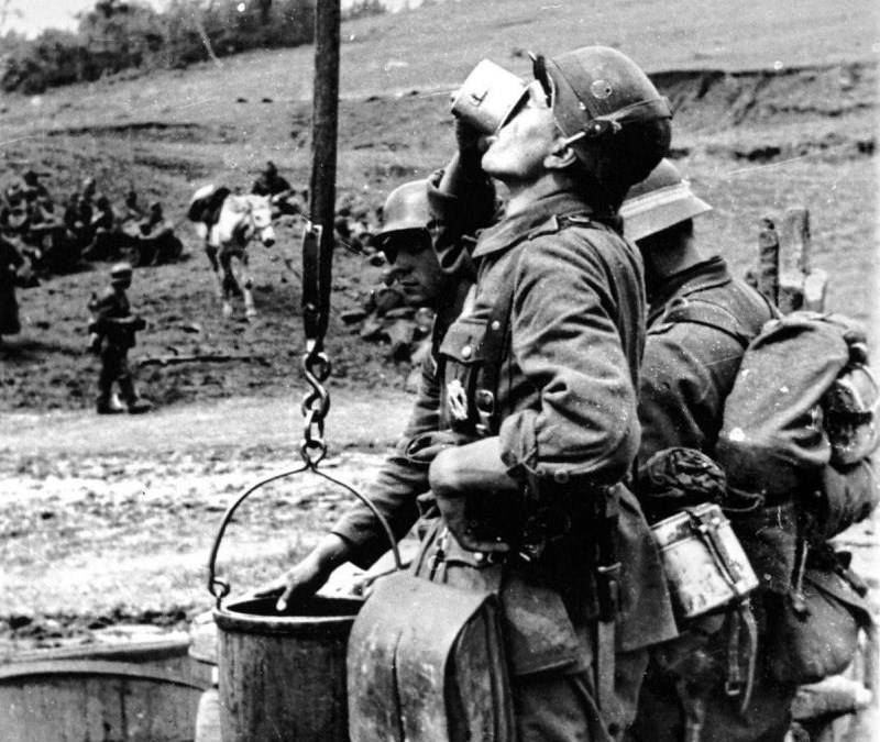 How the Red Army and the Wehrmacht purified water during the Great Patriotic War