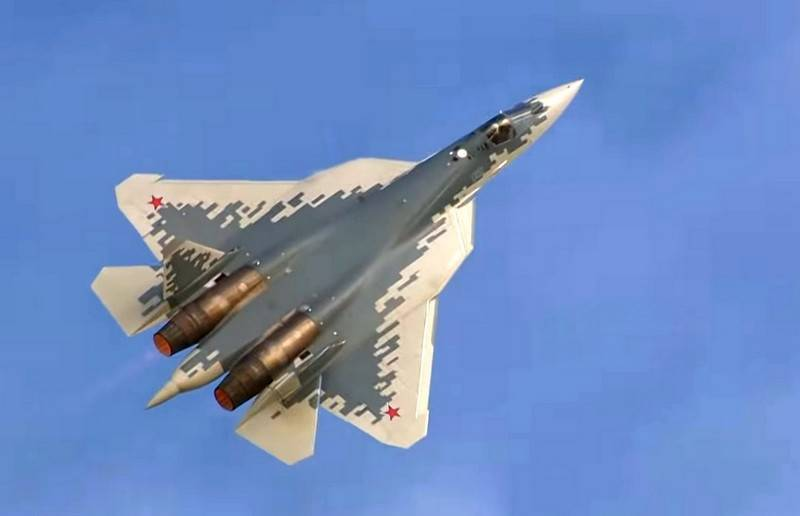 Russian fighter of the fifth generation Su-57 can get a two-seat version