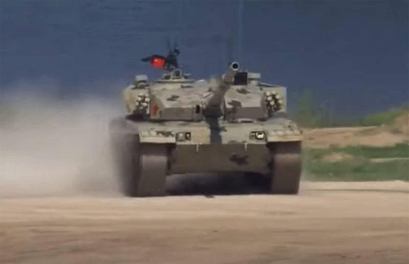 Армия Китая моделировала уличные бои с использованием танков на острове Тайвань