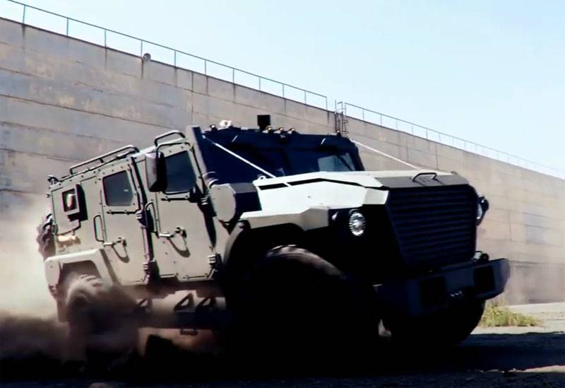 """The terms of state tests of the armored car """"Athlete"""" 4х4"""
