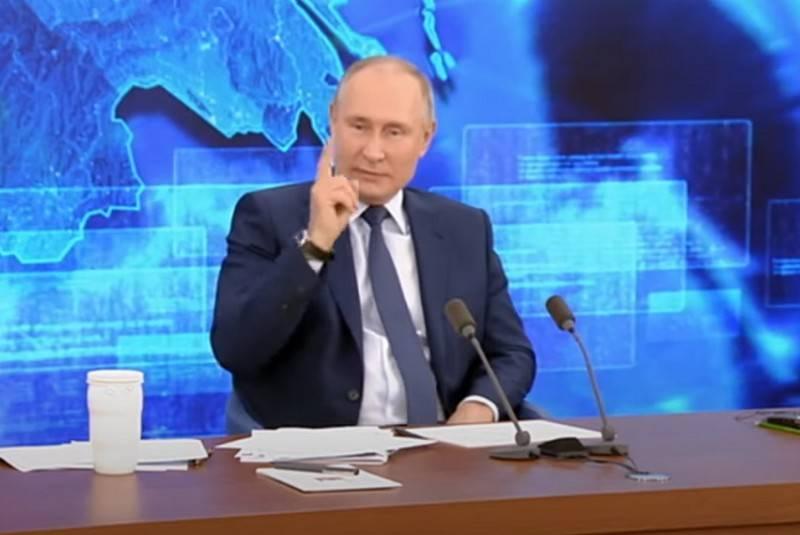 """독일 언론은 """"푸틴이 바이든이 러시아를 미국에 가장 큰 위협이라고 생각하는 것을 좋아한다""""고 설명했다."""