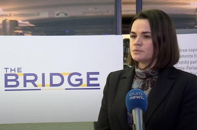 Svetlana Tikhanovskaya访问乌克兰的条件在基辅指定