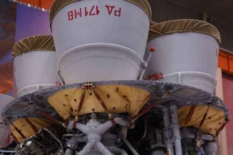 НПО «Энергомаш» провело первые огневые испытания ракетного двигателя РД-171МВ