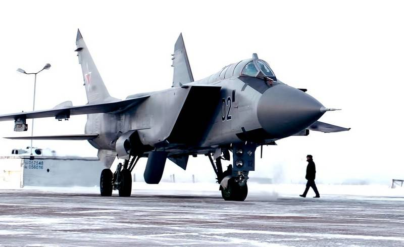 Upgraded MiG-31BM added to the Pacific Fleet's naval aviation