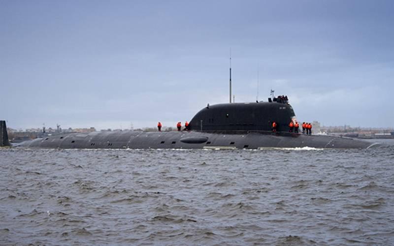 """核潜艇""""喀山""""项目885M"""" Ash-M""""发射""""玛瑙"""""""