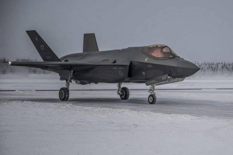 ABD Hava Kuvvetleri, Alaska'da F-35 savaş gücü oluşturmaya devam ediyor
