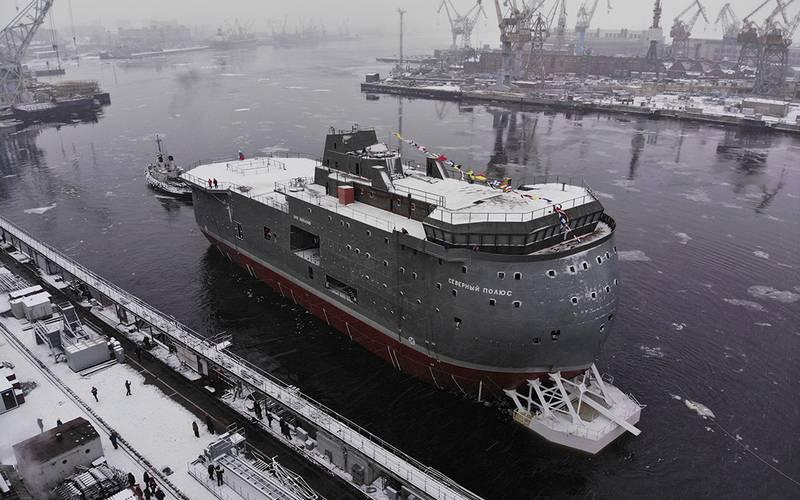 """Admiralty Shipyards"", 내빙 자체 추진 플랫폼 ""North Pole""출시"