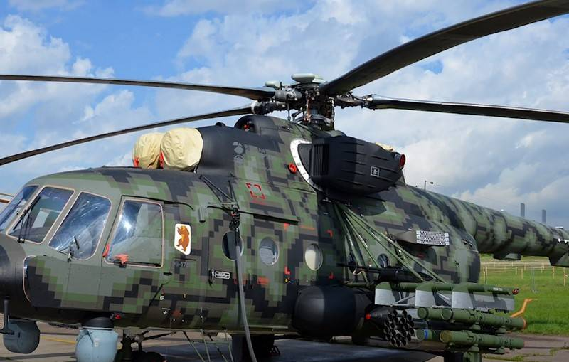Mi-8AMTSh-VN confirmed the characteristics of the airborne assault vehicle