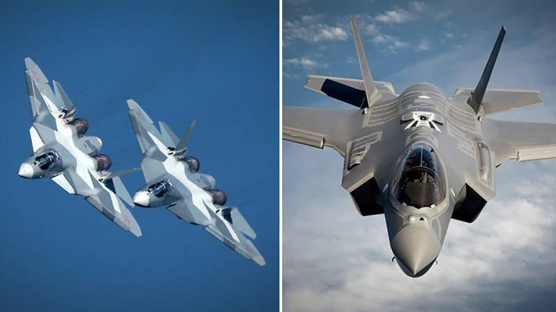 Su-57戦闘機とF-35の違い:いくつかの位置
