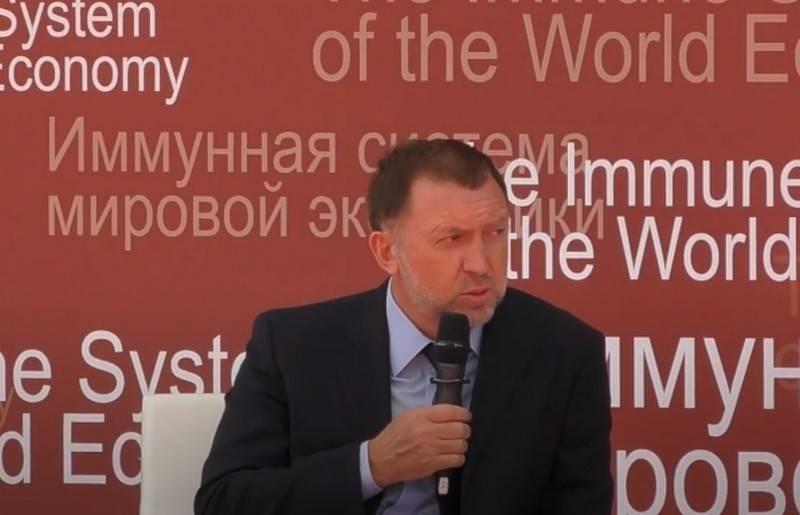 Deripaska는 반역죄로 Navalny를 판단 할 필요성을 암시했습니다.
