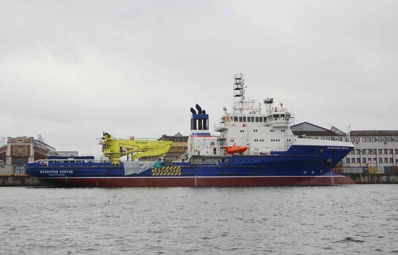 В Минобороны назвали сроки сдачи судна тылового обеспечения «Всеволод Бобров»