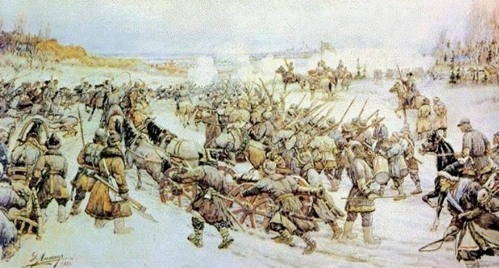 Bolotnikov가 모스크바를 포위 한 방법