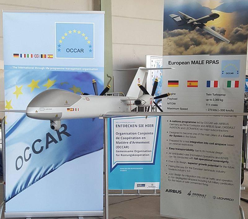 An EU strike drone.  Eurodrone MALE