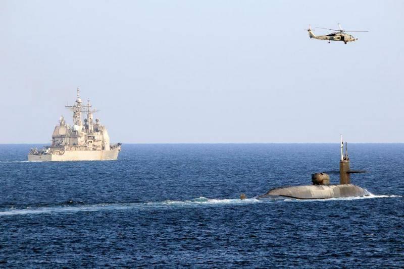 ABD Donanması, Basra Körfezi'ne nükleer denizaltı ve iki URO kruvazörü gönderdi