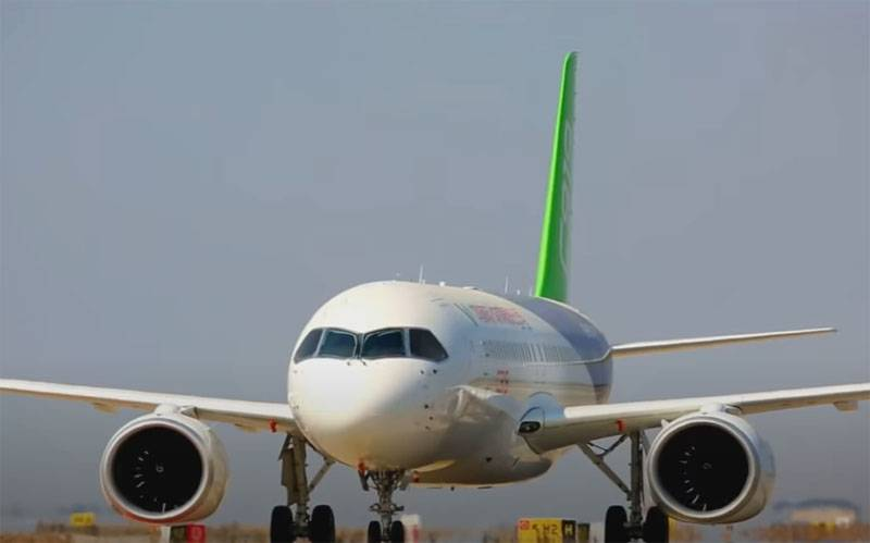 """""""Competitor MC-21"""": China will first conduct flight tests of the C919 aircraft outside the flight center in Shanghai"""