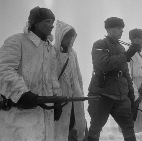 Использование трофейных немецких винтовок и автоматов в СССР