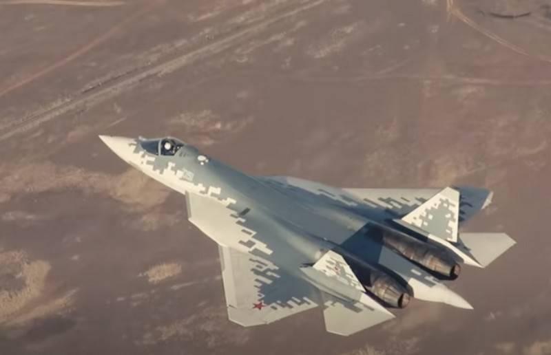 The first serial Su-57 entered the Akhtubinsky GLITs