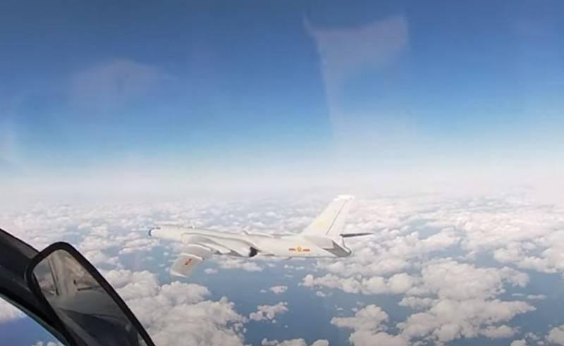 La Cina ha confrontato i bombardieri strategici Hong-6 con le controparti russe