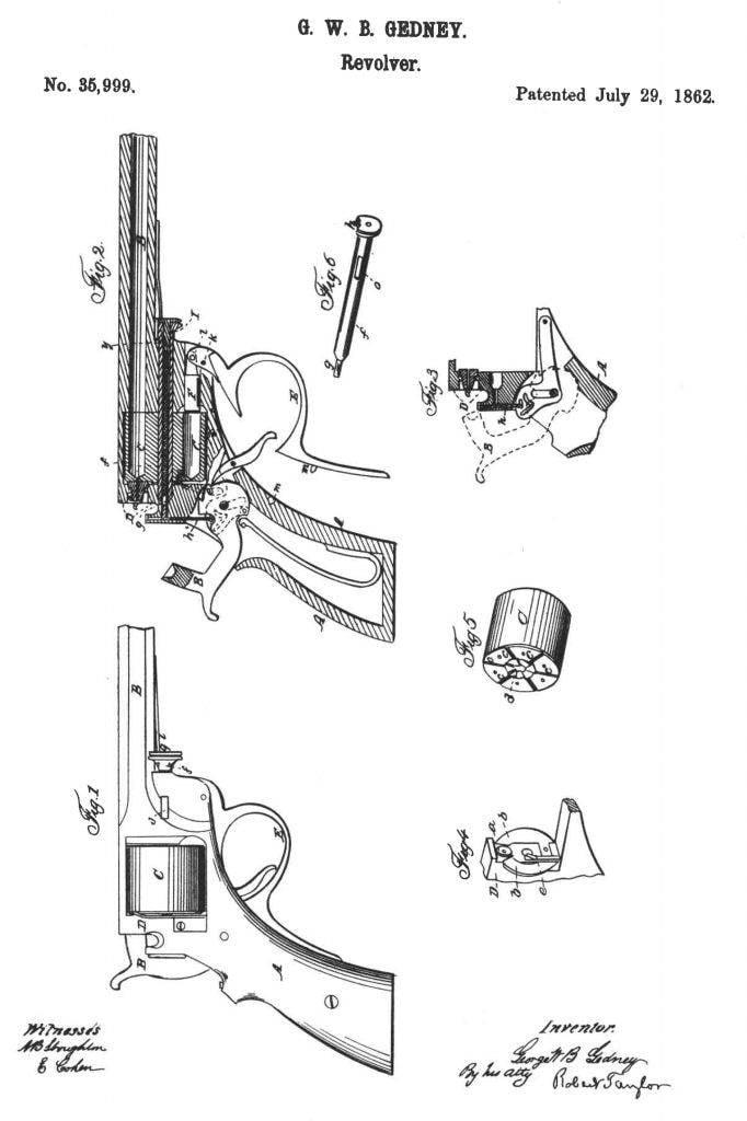 Kofer: homme, revolver, fusil