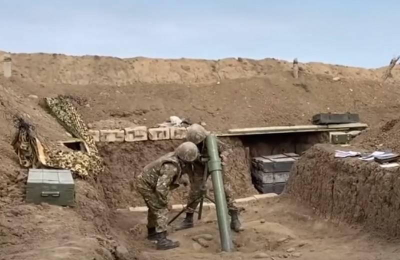 O Ministério da Defesa da Armênia comenta declarações sobre as batalhas na região de Gadrut de Karabakh