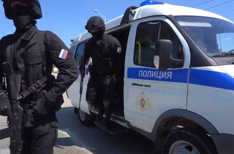 Policemen were attacked in the center of Grozny