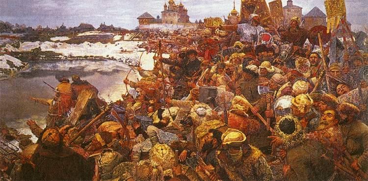 Shuiskyに対するBolotnikov。 モスクワ、カルーガ、トゥーラの戦い