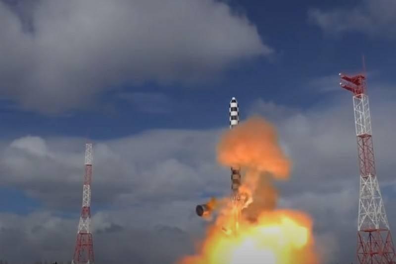 """Savunma Bakanlığı: """"Sarmat"""" ın uçuş testleri yakın gelecekte başlayacak"""