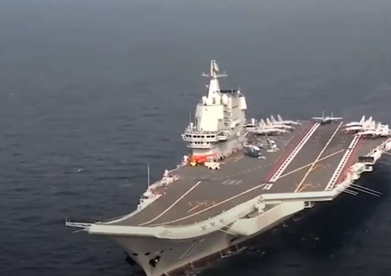 """Uçak gemisi """"Shandong"""" liderliğindeki AUG tatbikatlara gitti: Çin Donanması Güney Çin Denizi'nin bir bölümünü 7 Ocak'a kadar kapatacak"""