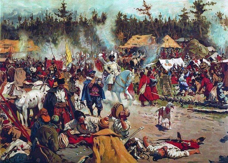 """""""Starodubsky thief"""" against Shuisky. Battle of Bolkhov and Khodynka"""