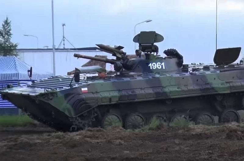 В Минобороны Польши были вынуждены отвечать на вопрос, зачем принято решение о модернизации БМП-1